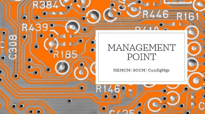 Management Point SCCM