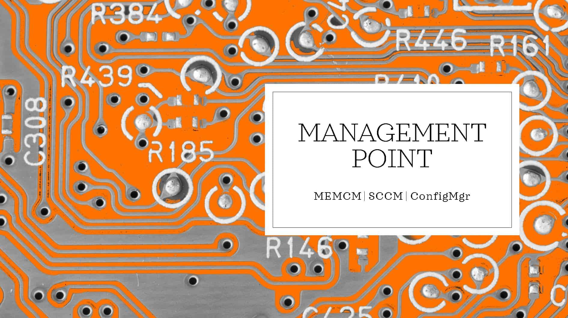Management Point SCCM
