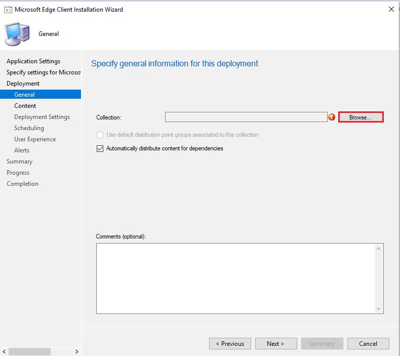 Upgrade Microsoft Edge - Install Microsoft Edge Browser Using ConfigMgr