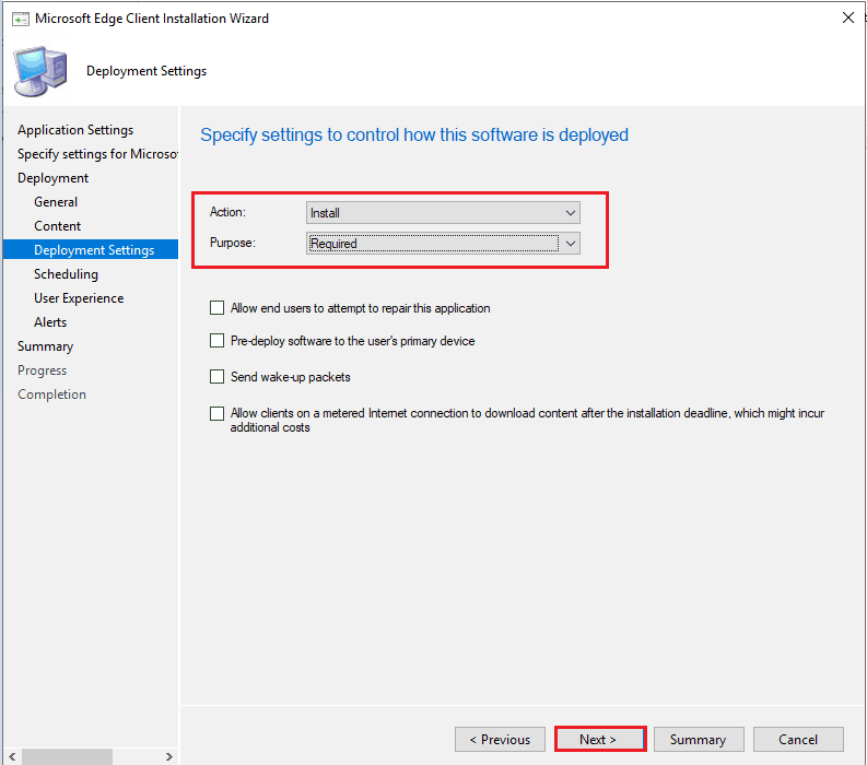 Upgrade Microsoft Edge Using ConfigMgr