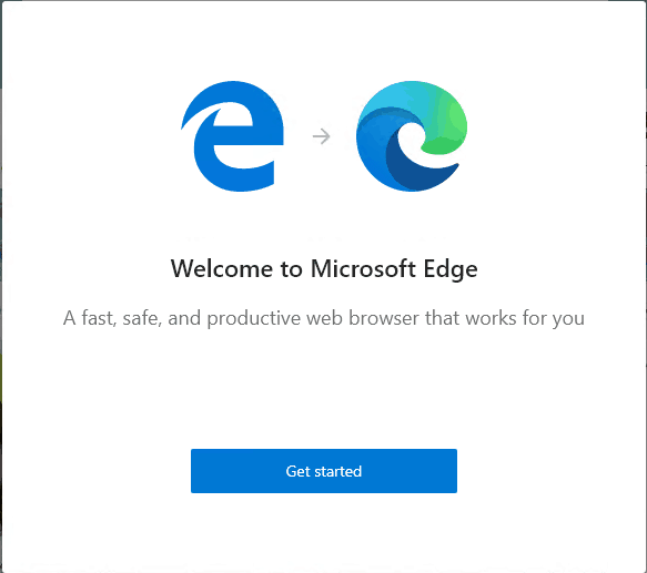 Software Center - Microsoft Edge Browser
