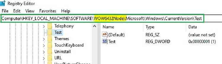 SysWOW64 registry intunewin32