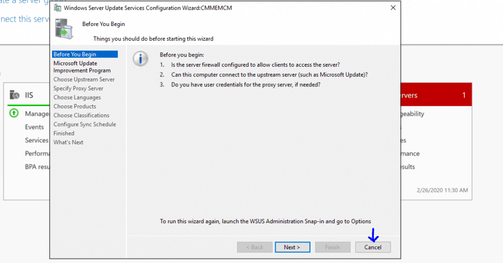 Install WSUS for ConfigMgr Software Update Point Role | SUP | SCCM 1