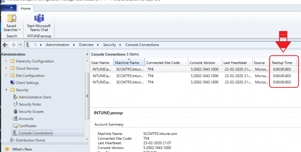 SCCM 2002 Technical Preview - Console Startup Time - ConfigMgr 2002 Technical Preview