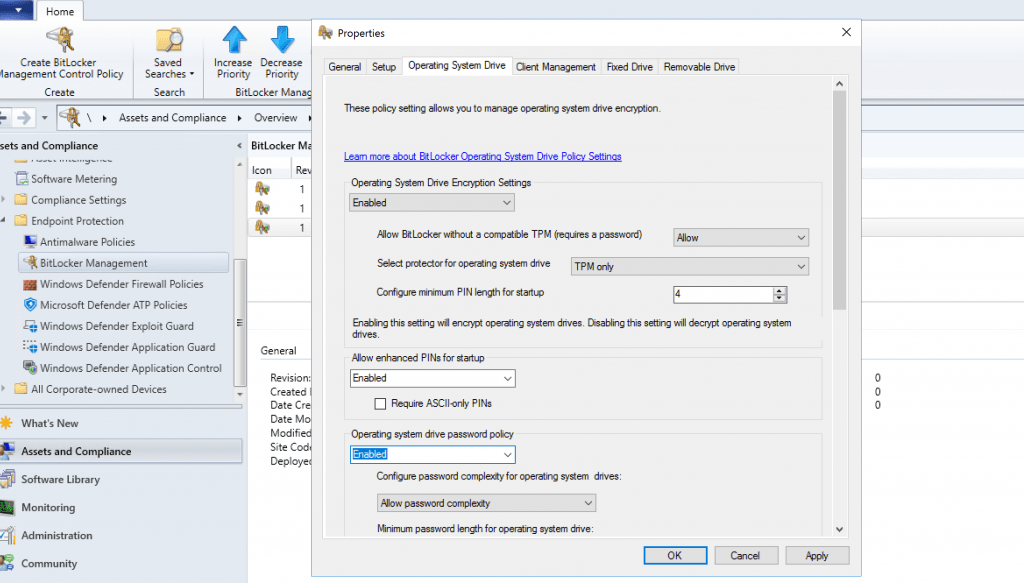 SCCM MBAM Improvements with SCCM 2002 Technical Preview