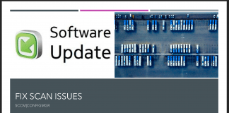 FIX Scan Issues with Software Updates