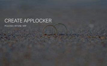 Create Applocker Policy