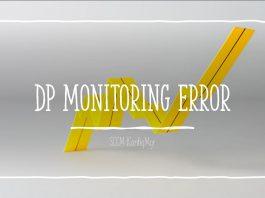 DP Monitoring Error