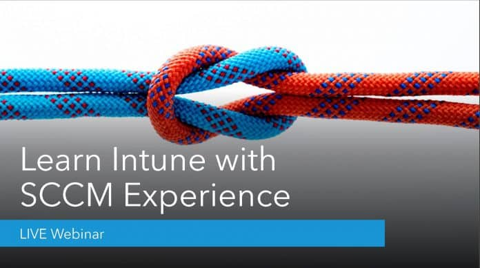 Learn Intune with SCCM Experience