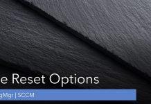 SCCM Site Reset
