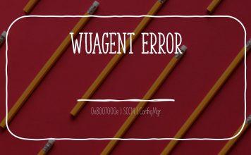 WUA Error 0x8007000e