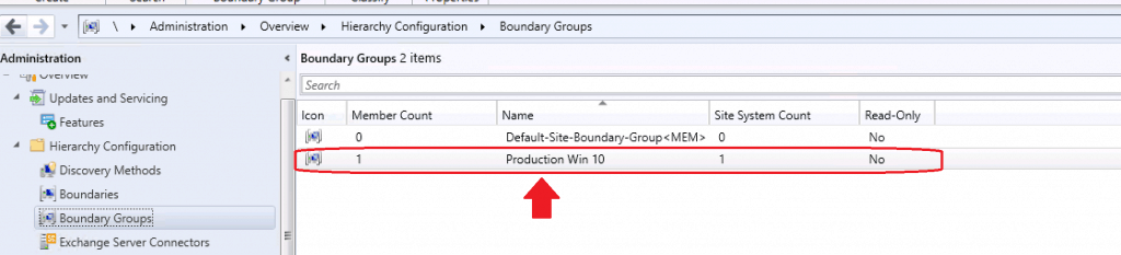 How to Create Boundary Groups in ConfigMgr|SCCM Boundaries 1