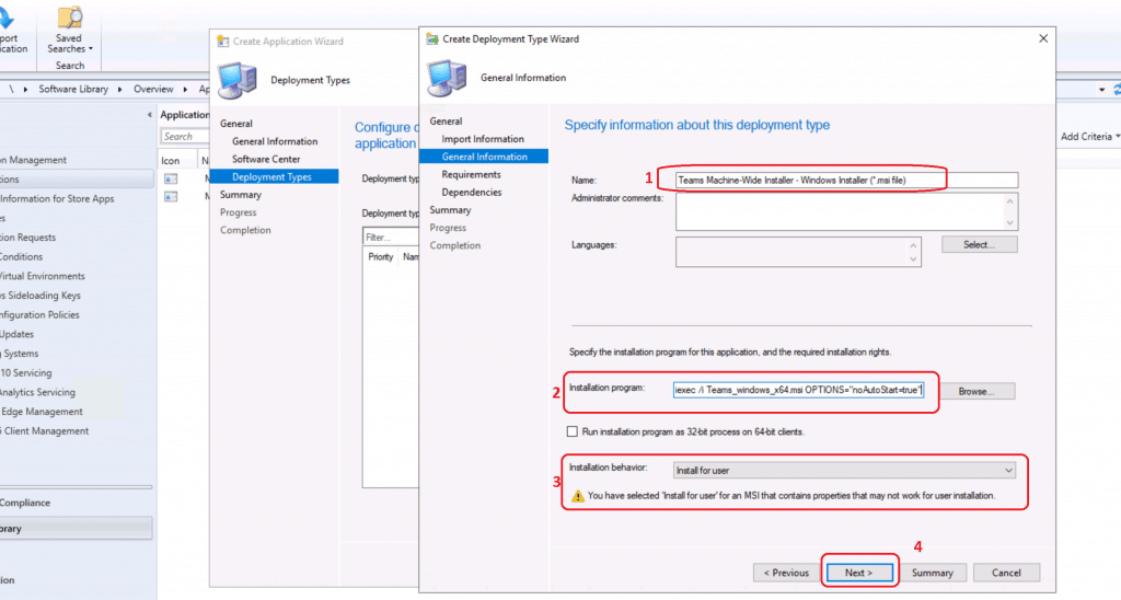 Teams Machine-Wide Installer - Windows Installer (*.msi file)