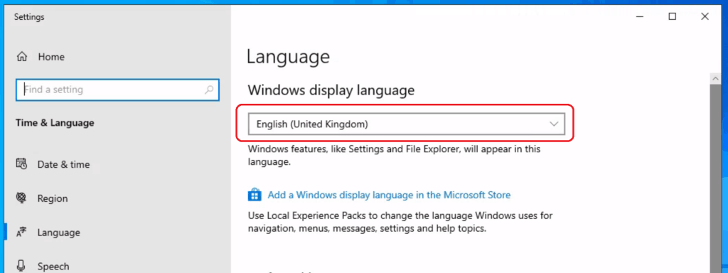 Language Pack installation - Deploy Windows App Win32 Using Intune