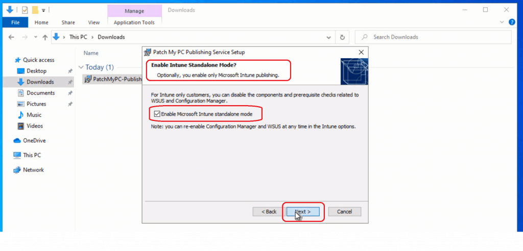 Enable Microsoft Intune Standalone Mode - Intune Third-Party Patching Automation