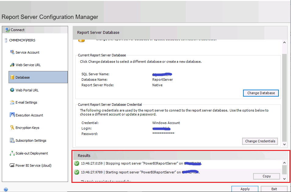 ConfigMgr Integrate Power BI Reporting Server with SCCM 6
