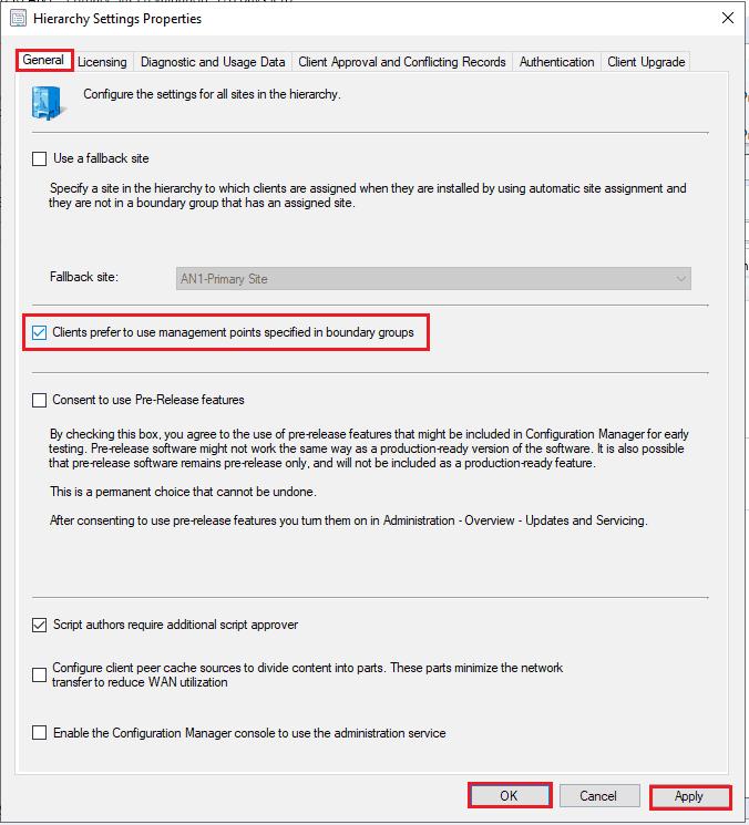 Configure ConfigMgr Preferred MP - Management Point - SCCM