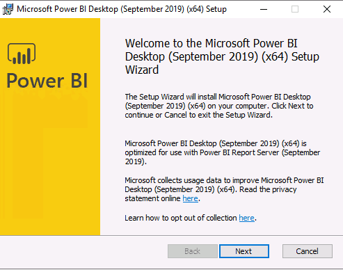 ConfigMgr Integrate Power BI Reporting Server with SCCM 12