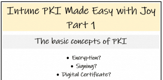 Intune PKI Made Easy With Joy Part 1
