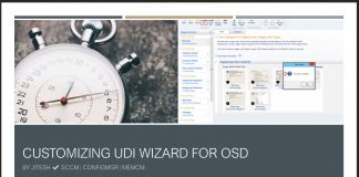Customizing UDI Wizard