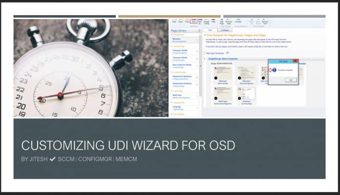 Customizing UDI Wizard