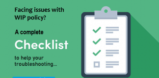 WIP Troubleshooting Checklist - LearnWIPwithJoy