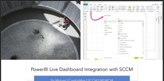 PowerBI Live Dashboard Integration with SCCM