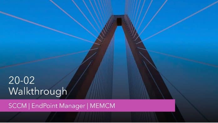 SCCM 2002 Features Enhancement Walk-through