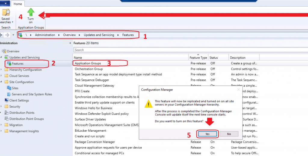 Fix SCCM Pre-Release Features are Grayed Out | Enable | ConfigMgr 1