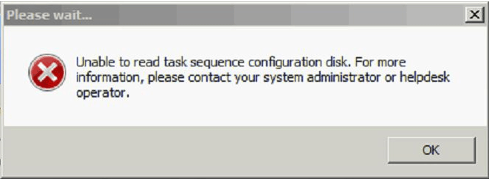 OSD Known Issues Troubleshooting - SCCM OSD - ConfigMgr
