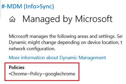 Manage Chrome using Intune via OMA-URIs