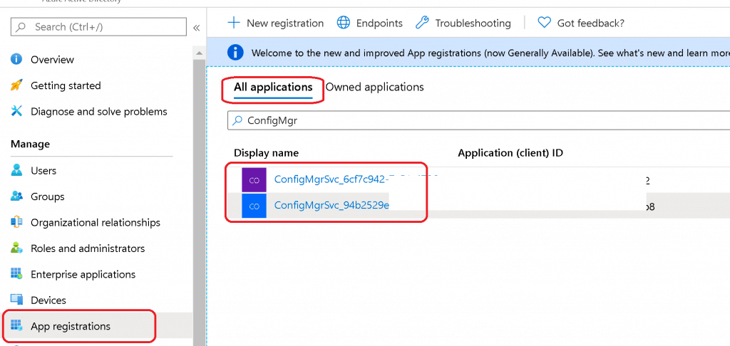 Sync Between SCCM Intune Portal