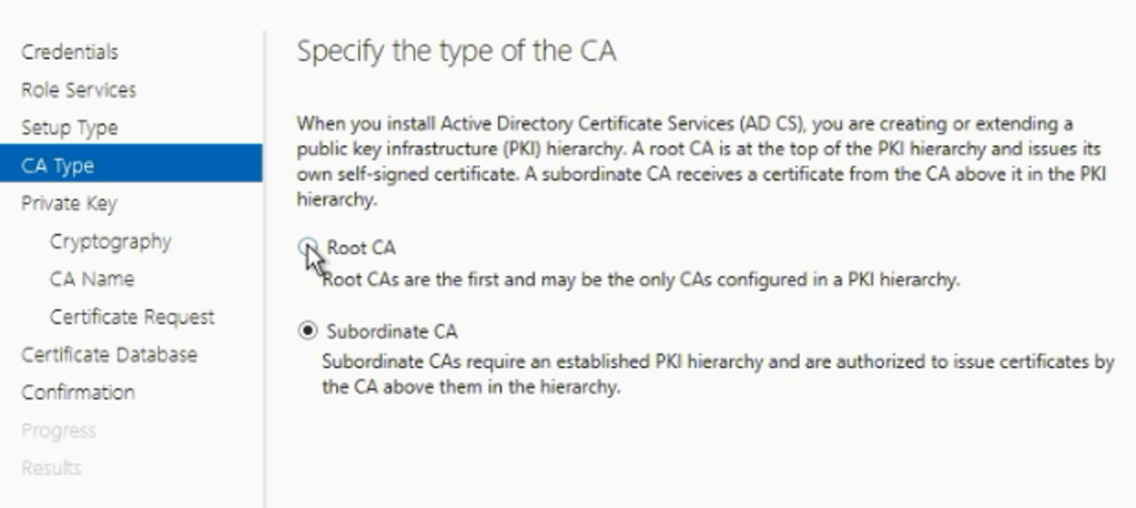 Install Root CA Sub-Ordinate CA Non-trusted domains |ConfigMgr | SCCM 9