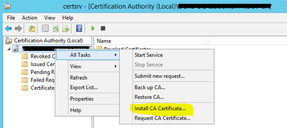 Install Root CA Sub-Ordinate CA Non-trusted domains |ConfigMgr | SCCM 18