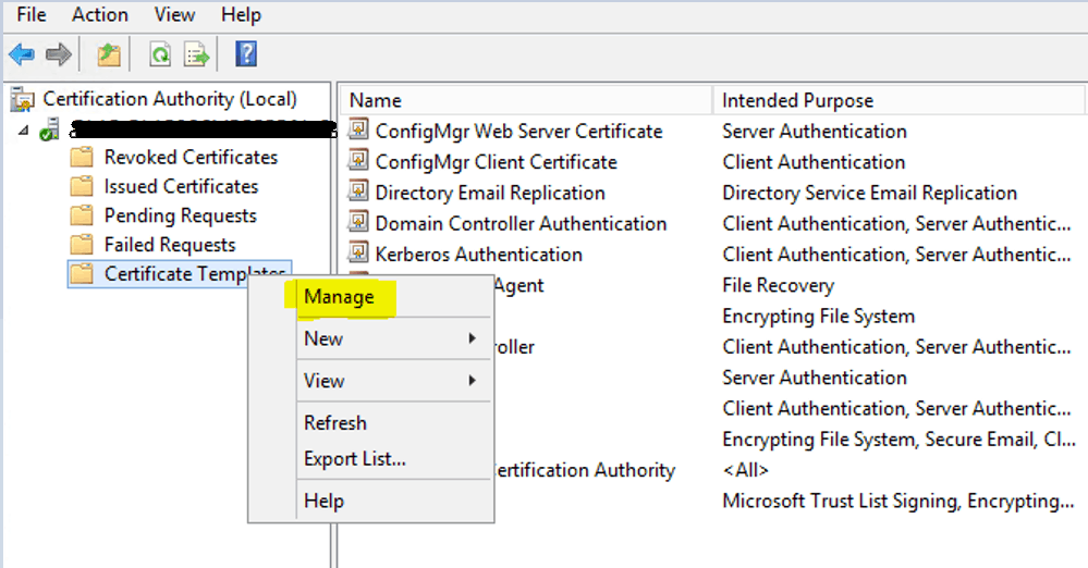 Install Root CA Sub-Ordinate CA Non-trusted domains |ConfigMgr | SCCM 20