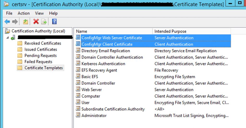 Install Root CA Sub-Ordinate CA Non-trusted domains |ConfigMgr | SCCM 29