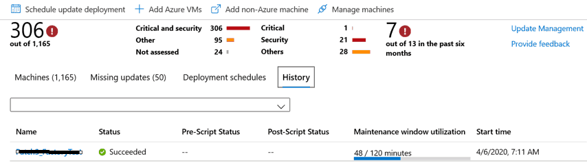 Server Patching with Azure Update Management for Azure Servers Linux and Windows