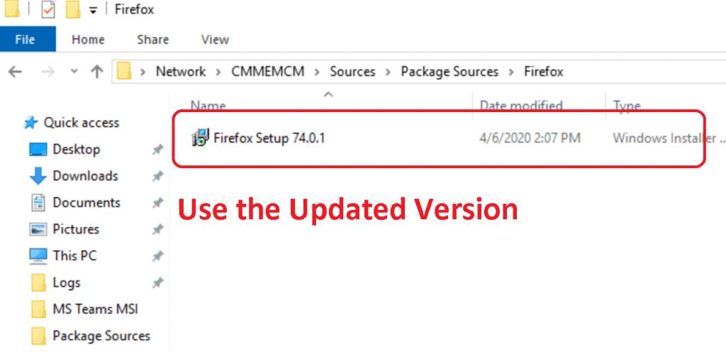 SCCM Package Source Deploy Firefox Browser Using SCCM | ConfigMgr