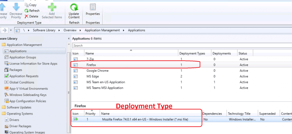 Deployment Type for Firefox  - Deploy Firefox Browser Using SCCM