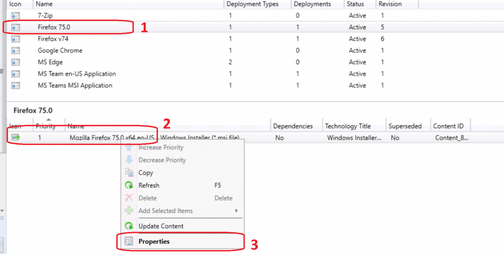 Deployment Type ConfigMgr - Firefox Installation Failed SCCM Reporting Issue