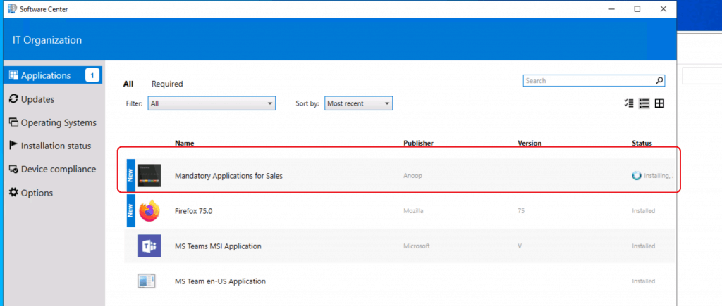 Create Application Group Using SCCM | ConfigMgr | Deploy App Group 2