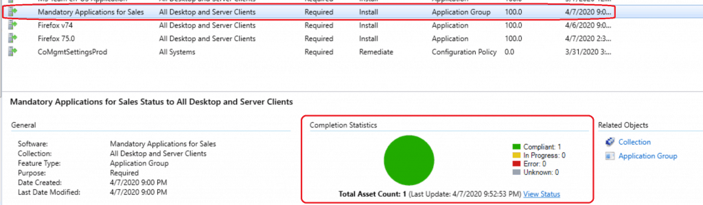 Create Application Group Using SCCM | ConfigMgr | Deploy App Group 3