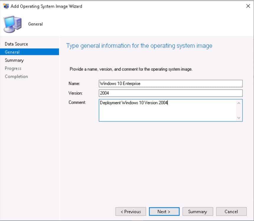 Deploy Windows 10 2004 Using SCCM | ConfigMgr | MEMCM 3