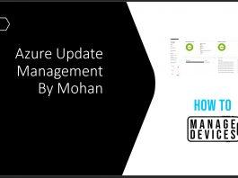 Azure Update Management