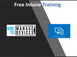 Free Intune Training - Content Update