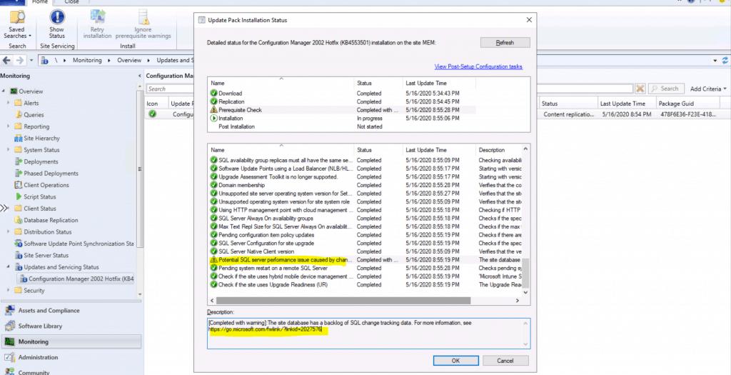Configuration Manager 2002 Hotfix (KB4553501)