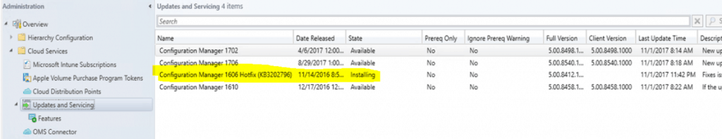 SCCM Upgrade with an Offline Service Connection Point| ConfigMgr 7