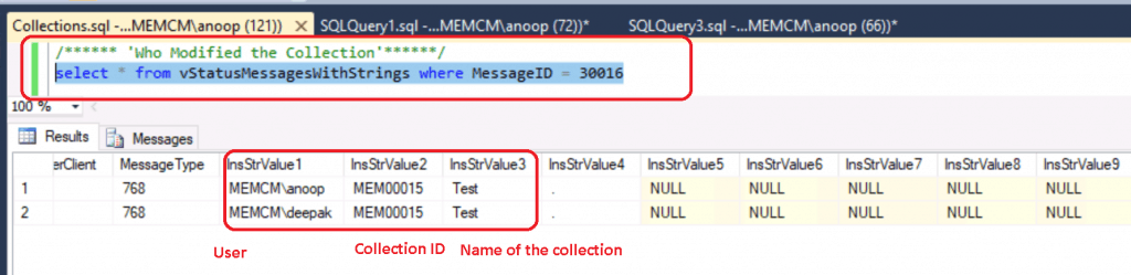 Who modified ConfigMgr Collection - Who Modified SCCM Collection - ConfigMgr