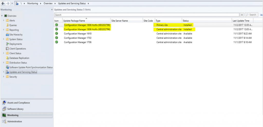 SCCM Upgrade with an Offline Service Connection Point| ConfigMgr 9