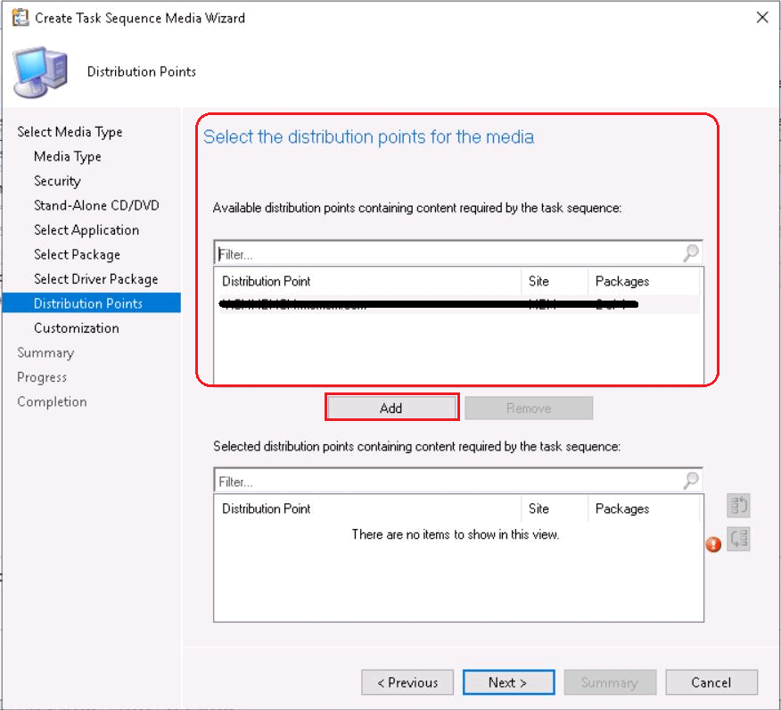 Fully Offline Standalone Media Using  ConfigMgr Creation Guide